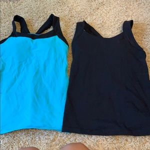 Lucy tank tops size small lot workout gym